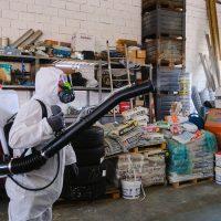 sanificazione capannone aziendale covid