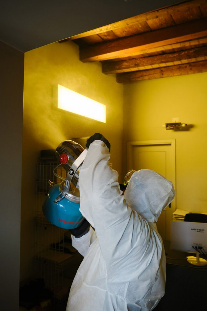 sanificazione ambienti interni covid